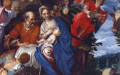 Veronese's Rest on the Flight into Egypt (c.1572)