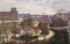 Pissarro's View of the Tuileries. Morning (1900)