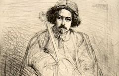 Whistler's J. Becquet, Sculptor (1859)
