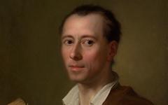 Mengs' Portrait of Winckelmann (1777)