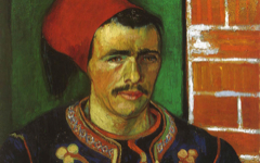 Van Gogh's The Zouave (1888)