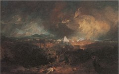 Turner's The Fifth Plague of Egypt (1800)