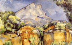 Cézanne, Chardin, Mountain and Breast