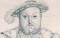 Ingres' Copy of Holbein's Henry VIII