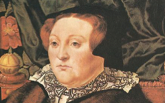 Eworth's Mary Neville, Lady Dacre (1555-8)
