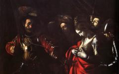 Caravaggio's Martyrdom of St. Ursula (1609-10)
