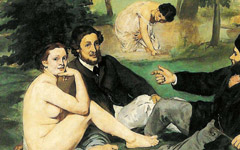 Manet's Le Déjeuner and Mlle. V. Simply Explained