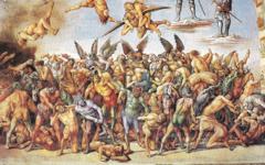 How Signorelli inspired Michelangelo