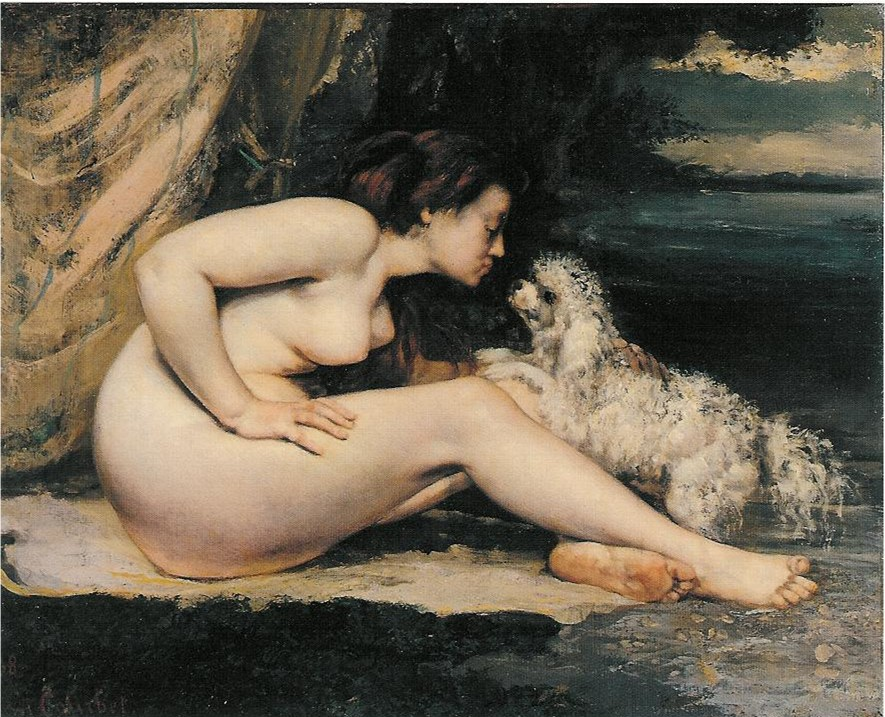 gustave courbets reclining nude essay