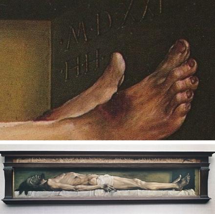 Epph Holbein S Dead Christ 1521