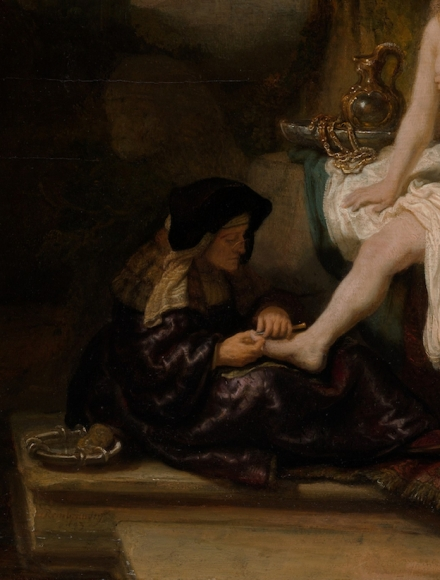 Consider, that Bathsheba at her bath rembrandt agree, the