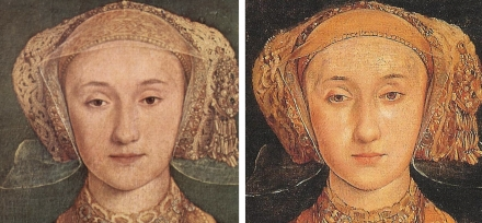 анна клевская жена генриха 8 портрет