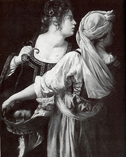 "judith and her maidservant with the head of holofernes by artemisia gentileschi The daughter of painter orazio gentileschi, artemisia trained in her father's workshop and quickly earned artemisia gentileschi's ""judith slaying holofernes."