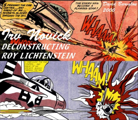 roy lichtenstein research paper This paper will attempt to explain  this is where he got his ideas for pop art  roy lichtenstein was another artist who  of the research i did for this.